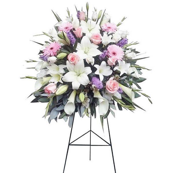 Arreglo Floral Fúnebre 04
